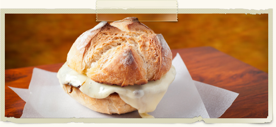 Thumbnail image for Mushroom Double Swiss Burger